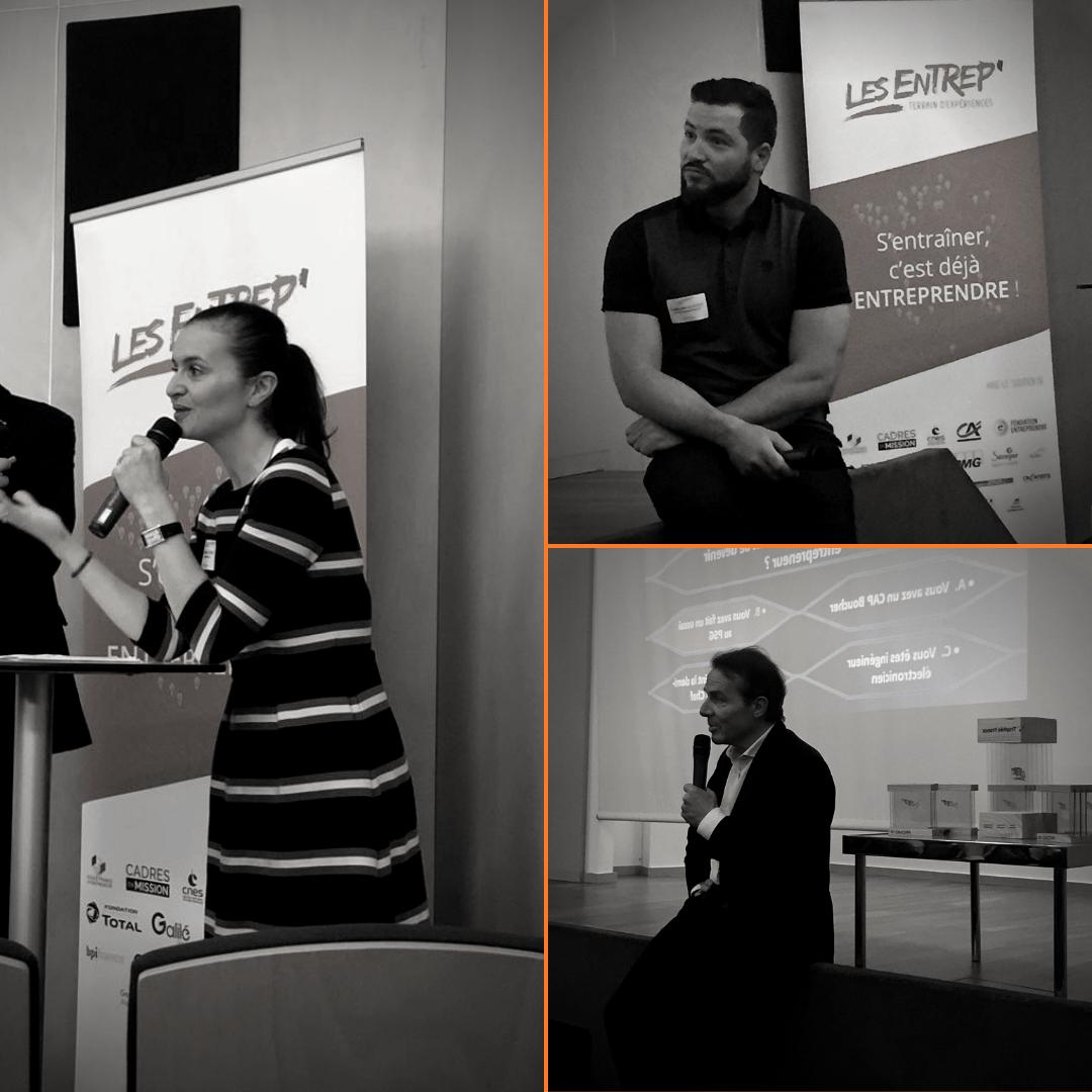 Les témoignages de Neïla Tabli, Olivier De La Chevasnerie et Guillaume Le Floch lors de la plénière interactive à l'occasion de la #JCLE2019.