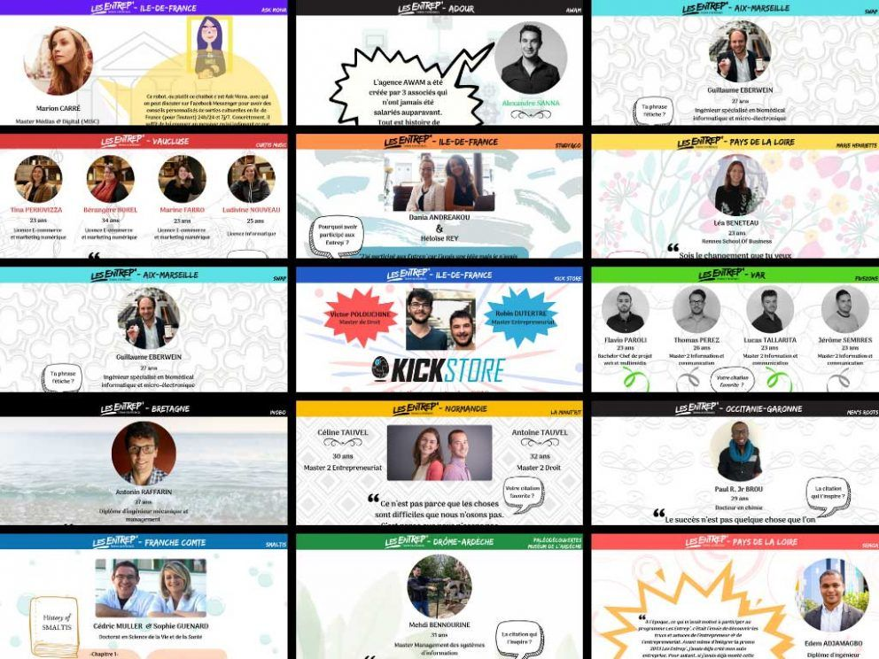 alumni les entrep' création entreprise startup