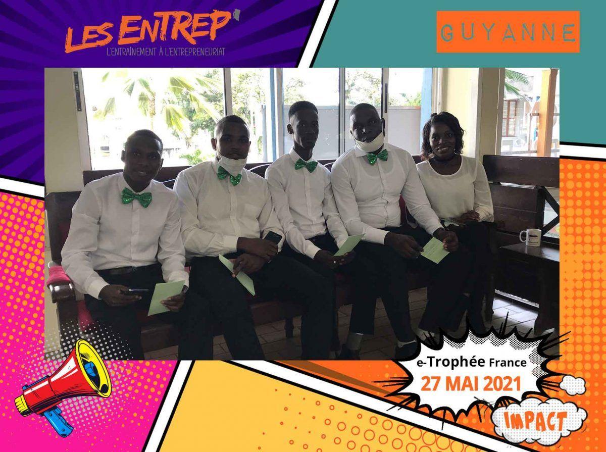 equipe laureate guyane e-trophee