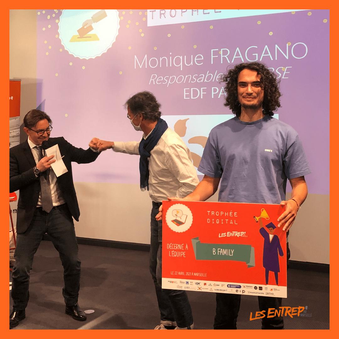 trophée digital entrep' Aix-Marseille